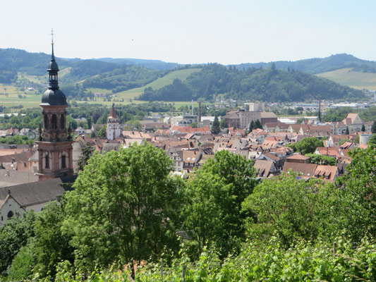 Blick auf Gengenbach
