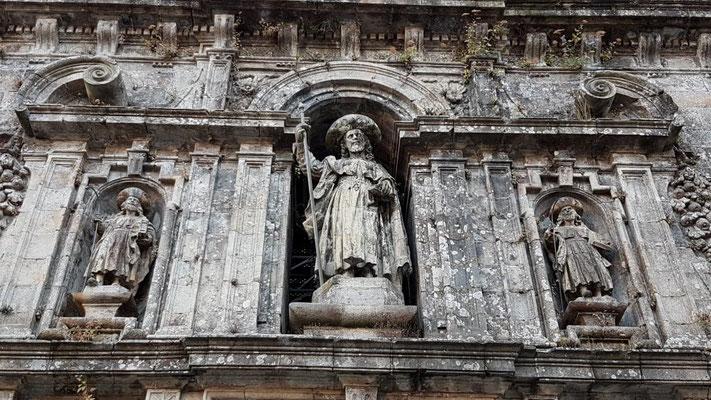 Jakobus über der Porta Santa