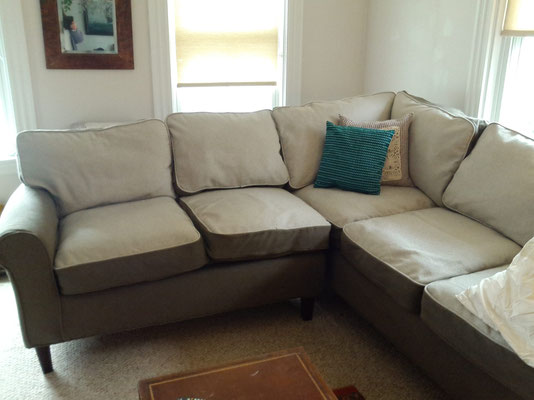 Fitted Sectional Slipcover