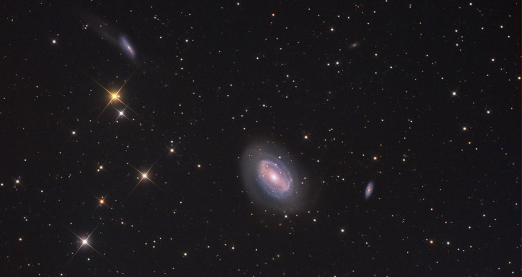 NGC4725 Picture if the day at astrobin