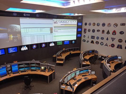 German Space Observation Center. Direkt auf dem Dach dieses Gebäudes steht jetzt unsere Sonderanfertigung