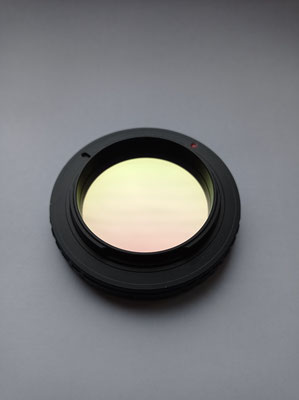 In ein Canon EOS Bajonett integrierter IDAS Filter