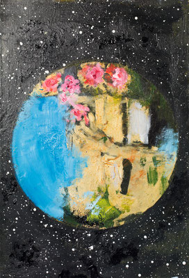 MEMORIES, 2015, oil on canvas, 35 x 24 cm