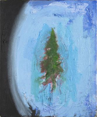 EARTH, 2016, oil on canvas, 55 x 46 cm
