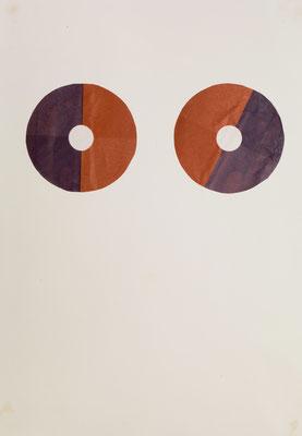 SPIRIT, 2005, collage on paper, 32 x 24 cm