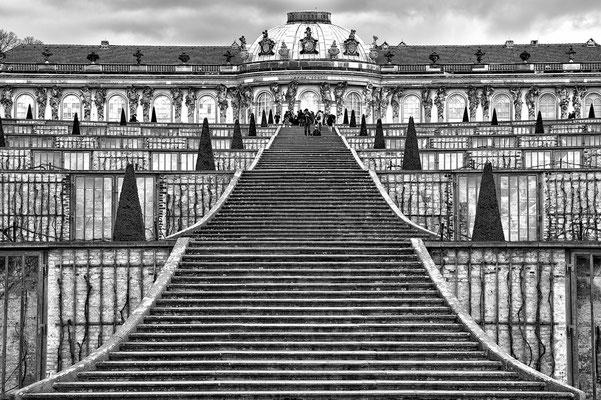 Stairs - Schloss Sans Souci / Potsdam  © c.rebl