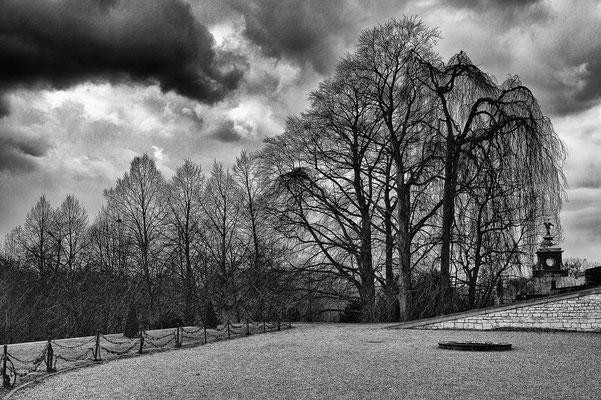 Graupelschauer - Schlosspark Sans Souci / Potsdam  © c.rebl