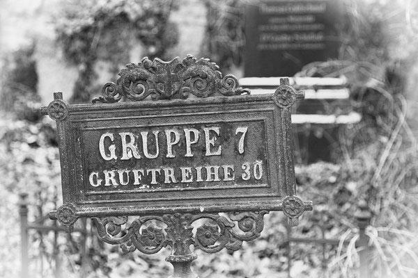 """ Gruppe 7 "" Zentralfriedhof Wien © c.rebl"