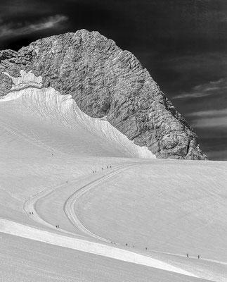 Wanderwege am Dachsteingletscher © c.rebl
