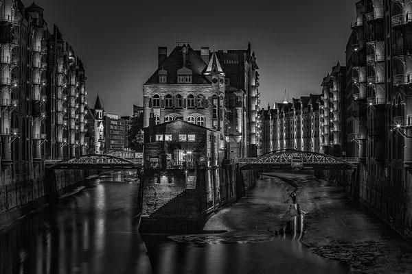 Wasserschloss Speicherstadt Hamburg© c.rebl