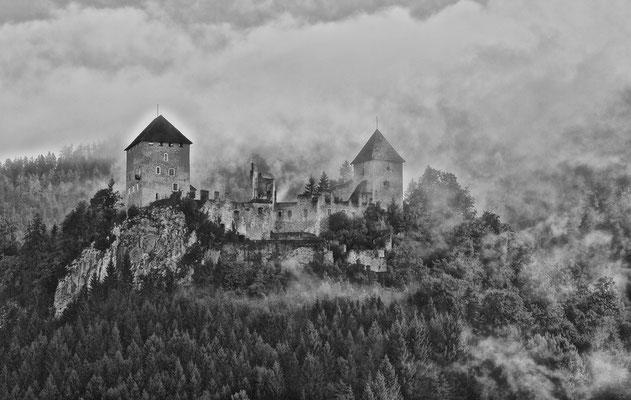Burgruine Gallenstein - St.Gallen / NP Gesäuse © c.rebl
