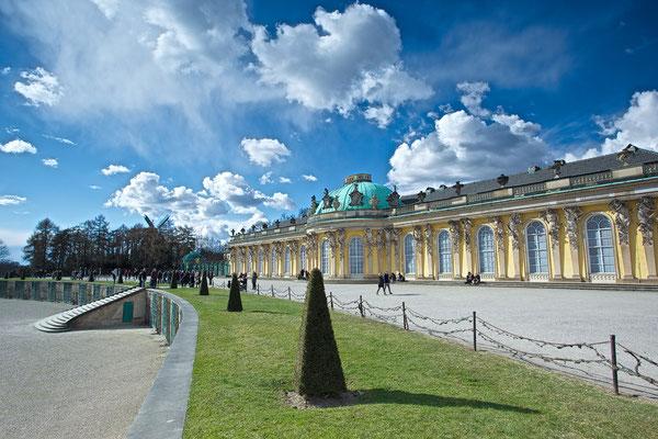Schloss Sans Souci / Potsdam © c.rebl
