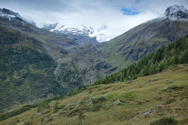 NP - Hohe Tauern Blick auf den Schlattenkees Gletscher © c.rebl