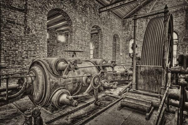 Dampfmaschine ehem. Spinnerei/Oberwaltersdorf © c.rebl