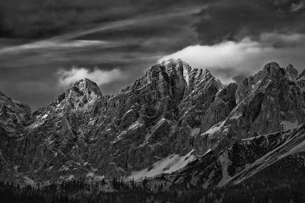 Dachstein Südwand im letzten Licht © c.rebl