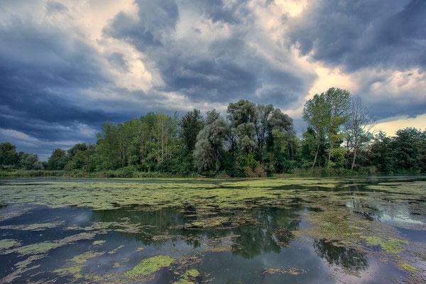 Gewitterstimmung am Mitterwasser © c.rebl