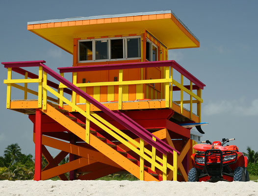 Baywatch Tower - Miami Beach © c.rebl