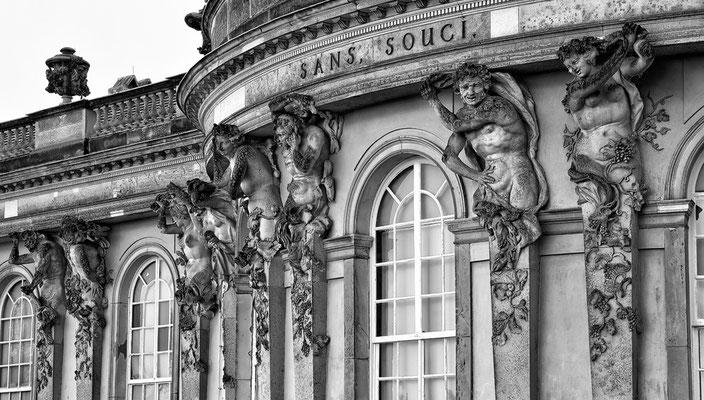 Ohne Sorge - Schloss Sans Souci / Potsdam © c.rebl