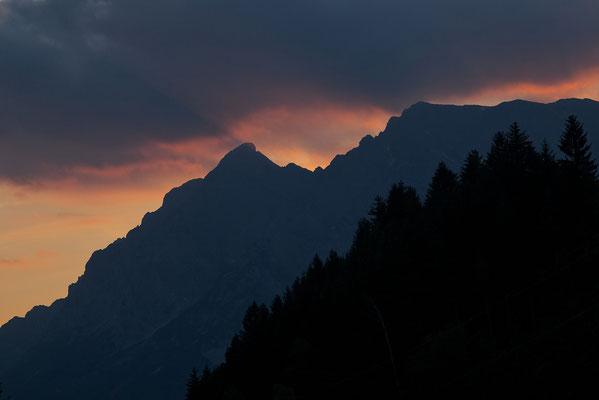 Der Grimming im letzten Licht © c.rebl
