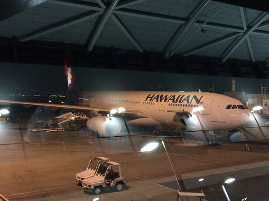 Hawaiianairlinesで♡