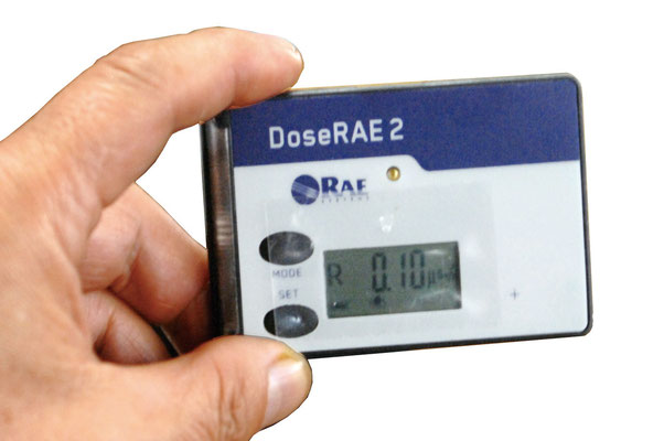 放射線測定器 RAE Systems DoseRAE2