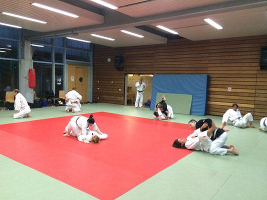 Bild: Ju-Jutsu-Training beim PSV Saar in Saarbrücken