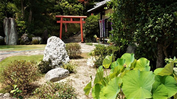 宝林寺の庭が美しい