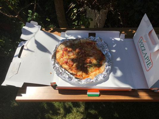 このピザです。
