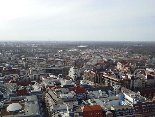 Leipzig von oben...