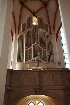 Thomas-Kirche von innen, Seitenschiff