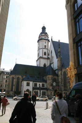 Die Thomaskirche, Die Wirkungsstätte von Bach und dem Thomaner-Chor.