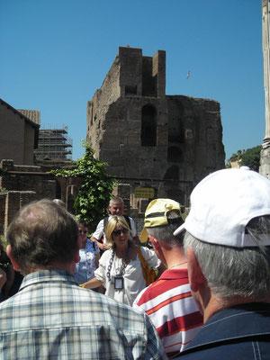 Agnieszka erzählt die Geschichte Roms