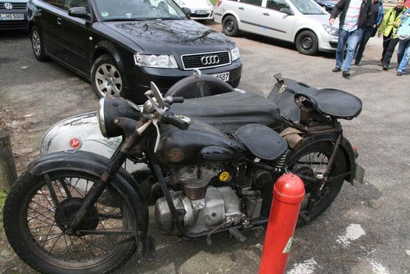 eine AVO - etwas für Motorradfreaks