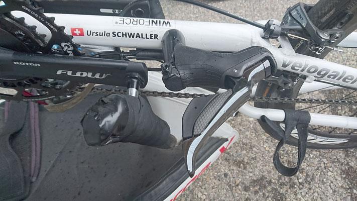 Power Messkurbel u. elektronische Schaltung - Handbike von Ursula Schwaller - customized by Velo Galerie Kerzers