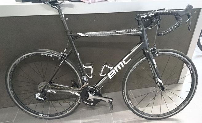 BMC Teammachine SLR01 mit Rotor Q-Rring
