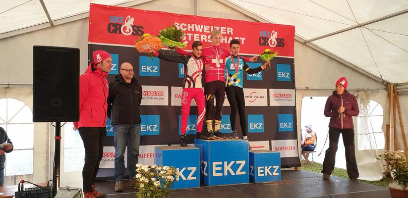 Alexandre Binggeli - Schweizermeister Cyclocross U17
