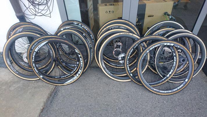 Die Räder sind bereit für die Cyclocross-Saison!