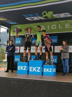 Alexandre Binggeli - 2. Platz in Aigle EKZ U17