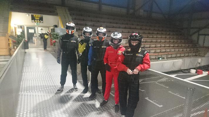 Velo Galerie Team-Event Karting 05.11.19