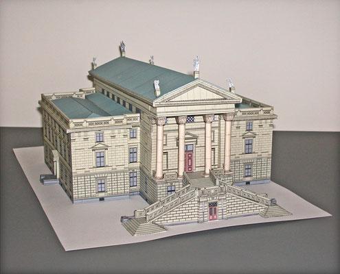Modellbaubogen Stadthaus Winterthur