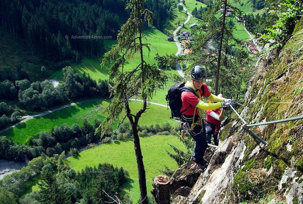 Klettersteig Zillertal : Neuer klettersteig im zillertal bei outdoor magazin