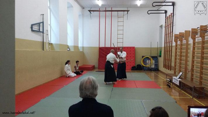 Aikikean no awase ho (uketachi: Enrico Neami - uchitachi: Paolo Bertocchi).