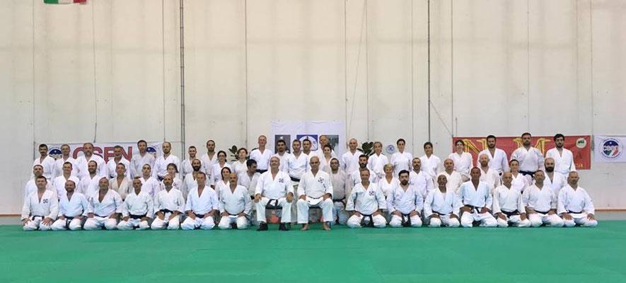Una foto di gruppo dal Summer Camp 2017.