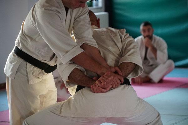 Dettaglio di una tecnica zu ate uchi waza
