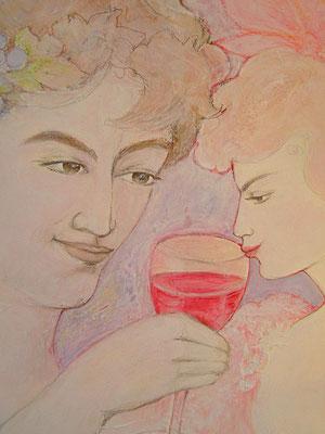 Bacchus und Venus Detail