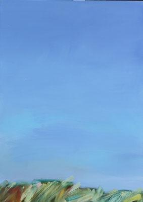 """Großer Himmel"" Öl auf Leinw. 140x100"
