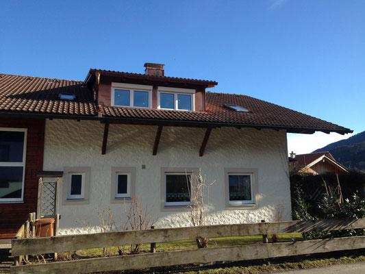 Aufbau von Dachgauben