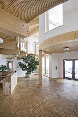 Neubau eines Bürogebäudes