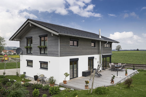 Neubau eines NaturPlusHauses - Einfamilienhaus