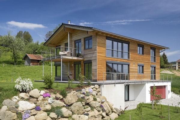 Neubau eines NaturPlusHauses - Einfamilienhaus mit Einliegerwohnung
